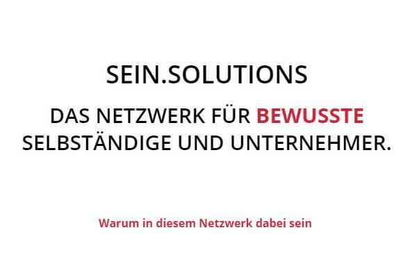 Unternehmernetzwerk Deutschland | 🥇 SEIN.SOLUTIONS ➤ Unternehmertreffen & ✓ Unternehmerstammtisch